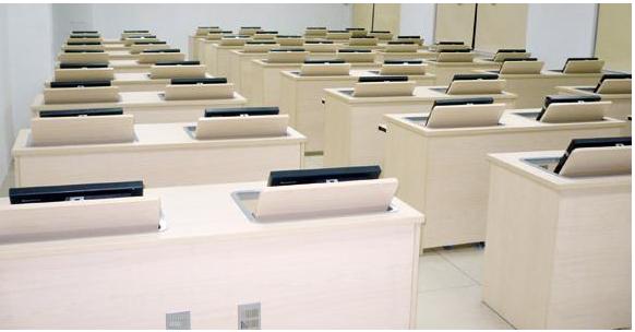 学生教学电脑桌